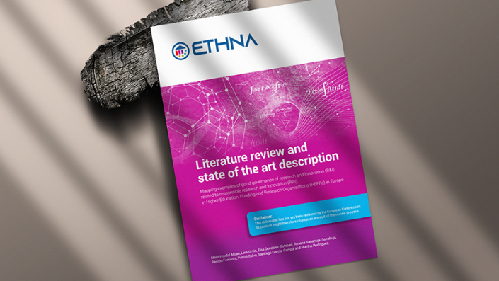 """Picture of the """"Literature Review and state of the art description"""" by ETHNA System"""