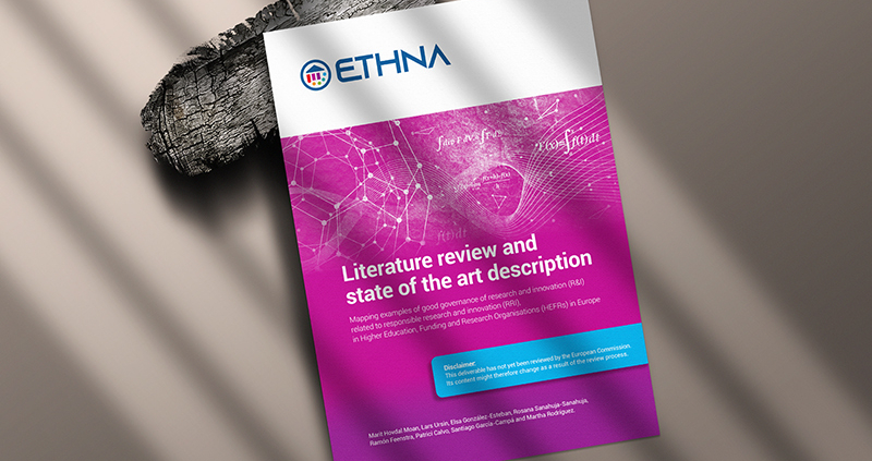 "Picture of the ""Literature Review and state of the art description"" by ETHNA System"